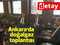 Özersay'dan, Ankara'da Doğalgaz Toplantısı