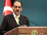Cumhurbaşkanlığı Sözcüsü İbrahim Kalın, kabine toplantısı sonrasında açıklamalarda bulunuyor.