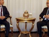 Cumhurbaşkanı Akıncı, Sivil Savunma Teşkilat Başkanı Karakoç'u kabul etti