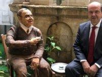 Ersin Tatar  Dr. Fazıl Küçük'ün müzesini ziyaret etti.
