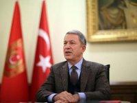 Milli Savunma Bakanı Akar'dan Yunan mevkidaşına 'adalar' çağrısı