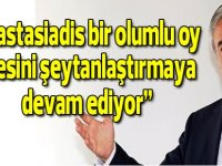 """Cumhurbaşkanı Akıncı: """"Kıbrıslı Rum Lider Anastasiadis bir olumlu oy ilkesini şeytanlaştırmaya devam ediyor"""""""
