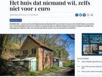 Belçika'da 1 Euro'ya bile satılamayan müstakil ev