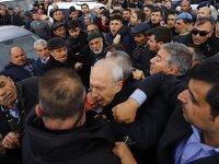 VİDEO - Kılıçdaroğlu'na saldırı anı