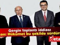 4 parti başkanından gergin toplantı iddiası,dörtlü koalisyon hükümeti son dönemlerini yaşıyor