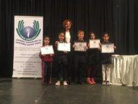 Kanserle Savaş İçin Afiş ve Slogan Yarışması'nda Yakın Doğu İlkokuluna 14 Ödül…