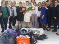 Kıbrıs Türk Kadınlar Birliği Girne Şubesi, Kanser Haslarına Yardım Derneği'ne bağışta bulundu