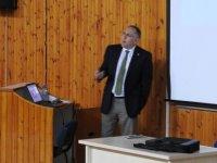 Boğaziçi Üniversitesi Rektör Yardımcısı DAÜ'de söyleşi gerçekleştirdi