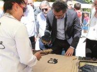 Başbakan Tufan Erhürman ve eşi Nilden Erhürman, Turnalar 4. Kırsal Köy Etkinliğine katıldı.