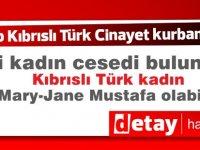 Londra'da kayıp Kıbrıslı Türk  kadın olayında cinayet şüphesi