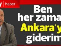 Ersin Tatar: Ben her zaman Ankara'ya giderim
