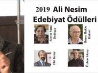 2019 Ali Nesim Edebiyat Ödülü'nün sahipleri belirlendi
