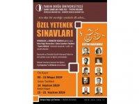 """YDÜ """"Tiyatro Bölümü"""" Oyunculuk ve Dramatik Yazarlık Anasanat Dallarına Özel Yetenek Sınavı ile Öğrenci Alacak"""