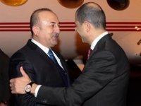 Tatar ve Özersay'a ilk tebrik Çavuşoğlu'ndan