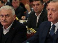 """Erdoğan: Milletimiz AKP'ye  """"Durmak yok yola devam"""" demiştir"""