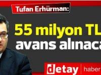 """Erhürman: """"Merkez Bankası'ndan 55 milyon TL avans alınacak"""""""