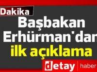 Denktaş'ın İstifası: Erhürman'dan ilk açıklama