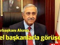 Cumhurbaşkanı Akıncı, yarın parti genel başkanlarıyla görüşecek