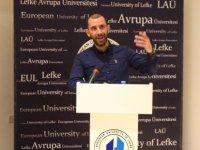 """LAÜ'de """"Biyomedikal Sektöründe Mühendislerin Çalışma Konuları ve Uygulamaları"""" konuşuldu"""