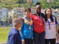 DAÜ'nün olimpik atleti Ese Brume rekora doymuyor
