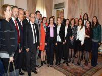 Türkiye Dostluk Kulüpleri Platformu Siber'i ziyaret etti