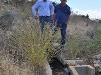 Taşpınar'daki tarihi su kuyuları hala çalışır vaziyette...