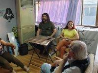 """""""Sanayi Holding ve Dev-İş"""" kitabı tanıtım söyleşileri Girne'de devam ediyor"""