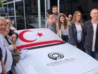 Klasik ve Spor Otomobil Kulübü ekibi 19 Mayıs'ın 100. yılı için düzenlenen etkinliklere katıldı