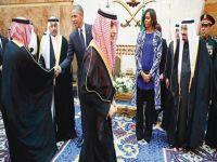 First Lady Obama'nın kıyafeti Suudi Arabistan'ı karıştırdı