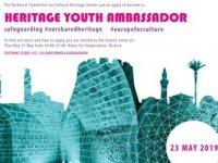 """""""Genç Kültürel Miras Elçileri"""" etkinliği açılış töreni yarın"""