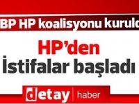 HP'den istifalar başladı! HP LTB Meclis üyesi partisinden istifa etti!