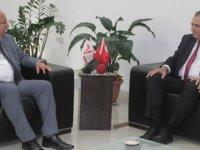 Çavuşoğlu, görevi Cemal Özyiğit'ten devraldı