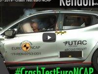 2019 Model Renault Clio, Euro NCAP Testlerinde 5 Yıldız Almayı Başardı (Video)