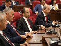 UBP-HP hükümet programı bugün Cumhuriyet Meclisi'nde okunacak