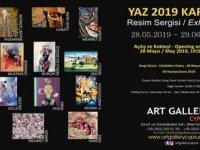 Yaz 2019 Karma Resim Sergisi bugün Lefkoşa'da açılıyor
