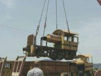 CMC maden alanındaki lokomotif ve vagonlar turizme kazandırılıyor