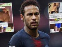 Neymar tecavüz iddialarını reddetti! Whatsapp görüşmelerini yayınladı…