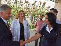 Sağlık Bakanı Ali Pilli, Ramazan Bayramı nedeniyle Gazimağusa Devlet Hastanesi'ni ziyaret etti