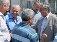 Cumhurbaşkanı Akıncı, Taşkınköy Spor Kulübü'nü ziyaret etti