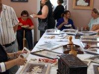 İskele Köy Kadın Kursu sergisi açıldı