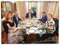 15 gün önceki Anastasiadis Özersay yemeğinin fotoğrafı yayımlandı
