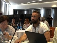 """Öğretmen sendikaları larnaka'da """"Eğitim ve Göç"""" temalı seminere katıldı"""