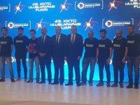 KKTC Uluslararası Fuarı'nda Yakın Doğu Üniversitesine İnovasyon Başarı Ödülü Verildi