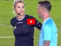 Futbolcu trolleyen Brezilyalı hakem Fernanda Colombo sosyal medyayı salladı (VİDEO)