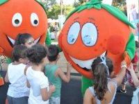 Güzelyurt Portakal Festivali, çocuk şenliğiyle devam etti