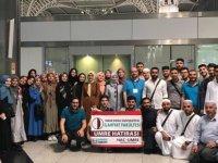 Yakın Doğu Üniversitesi İlahiyat Fakültesi öğrencileri kıraat eğitimi için İstanbul'a gitti…