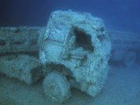 Larnaka'da batan Zenobia gemi enkazına  ilişkin belgesel