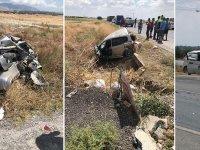 Kazada ağır yaralanan polis memuru yoğun bakımda