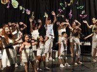 Lefkoşa Belediye Orkestrası Çocuk Korosu dün akşam verdiği konserle sezonu kapattı