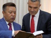 Uluçay, Kırgızistan eski Meclis Başkanı Tursunbekov'u kabul etti